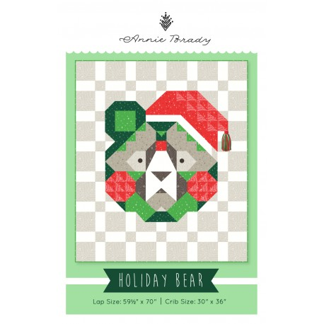Holiday Bear Quilt Pattern (PDF)